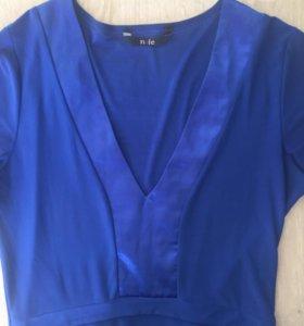 Синее платье nife