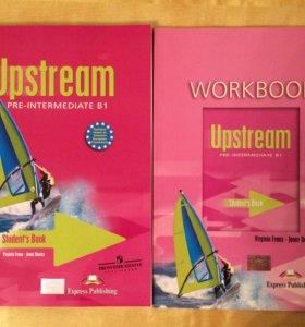 Учебник и рабочая тетрадь Upstream, уровень B1