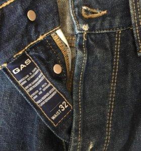 GAS jeans raul pure indigo denim W32 / Джинсы ГАС