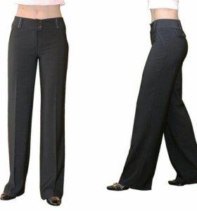 Классические прямые черные брюки новые