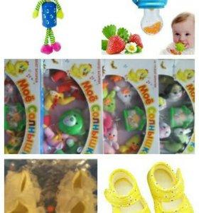 НОВЫЕ игрушки и ниблеры для малышей