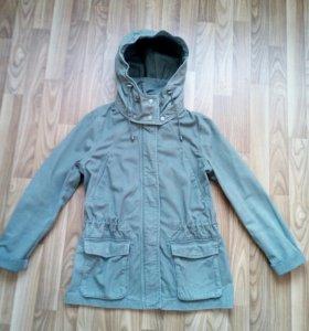 Женская куртка парка H&M р 44-46