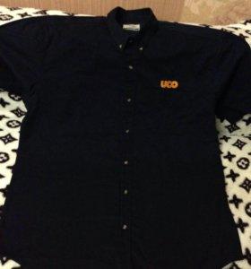 Продам новую рубашку размер 56 хлопок