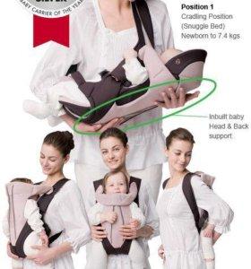 Переноска-кенг Ninna nanna combi baby carrier