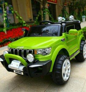 Электромобиль монстр Jeep 4wd