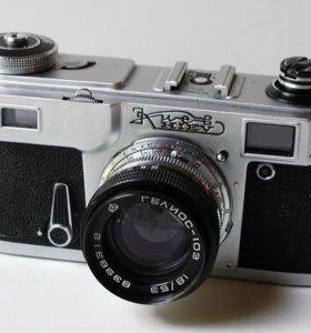 Фотоаппарат киев+объектив гелиос-103 1.8/53
