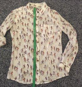 Женская рубашка М