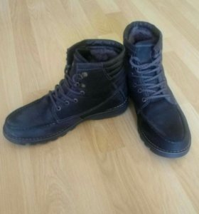Продам ботинки мужские зимние р-р 41 кожа