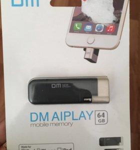 Срочно продам флешку на IPhone 5-7