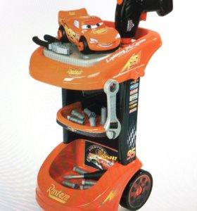 Машинка с инструментами Тачки