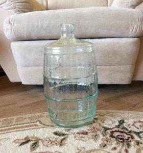 Бутыль стеклянная