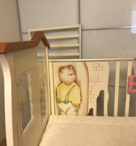 Кроватка детская baby expert