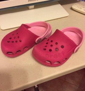 Кроксы, crocs размер 7