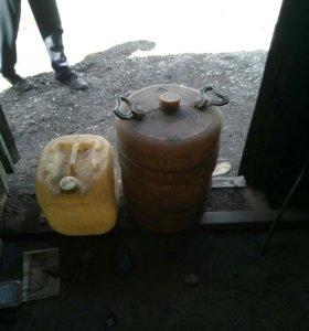 Канистры 50 и 20 литров