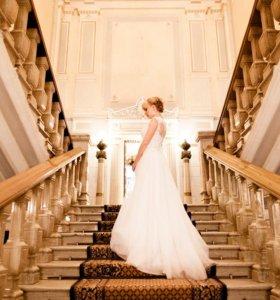 """Белое свадебное платье """"Дучи"""""""