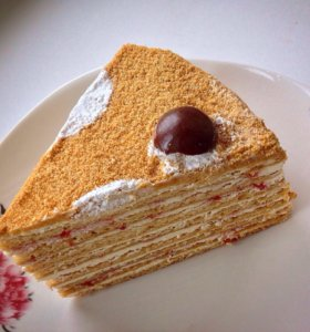 Торт, домашний медовик