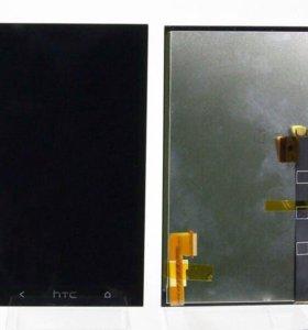 Дисплей HTC One Dual модуль черный