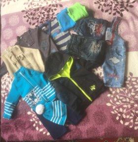 Пакет одежды для мальчика 80-86р.