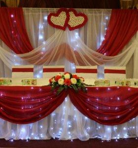 Свадебное оформление залов,аксессуаров
