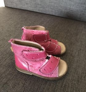 Ботинки на первый шаг 19 р