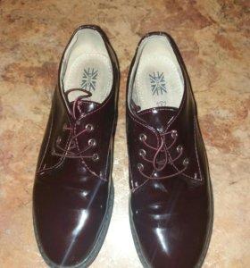 Туфли лаковые 35 рр
