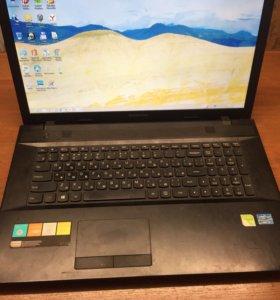 Игровой ноутбук Lenovo g700