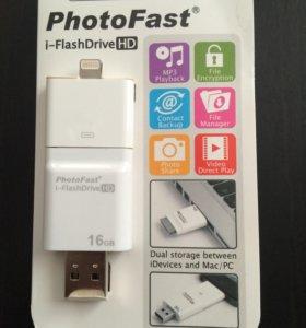 Флешка для iPad, IPhone на 16 гб