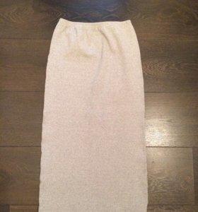 Новая трикотажная юбка.