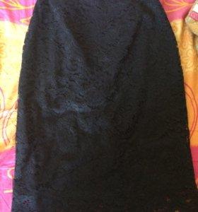 юбка кружевная