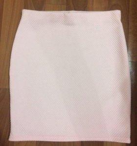 Летняя юбка-карандаш