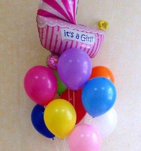Гелиевые и Воздушные шары. Оформление праздников.