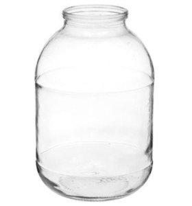 Стеклянные банки ( 3 литра )