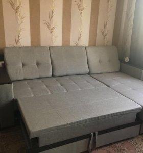 Угловой диван-кровать раздвижной