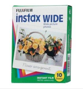 Кассеты для полароида Fujifilm Instax Wide