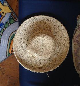Плетёная соломенная шляпа Pezzo