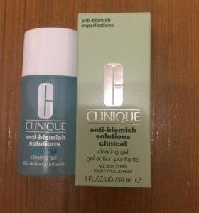 Clinique anti blemish solutions гель против прыщей