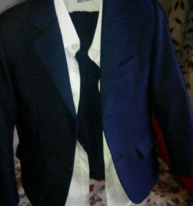 Костюм тройка для мальчика+белая рубашка