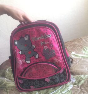 Портфель школьная для девочек