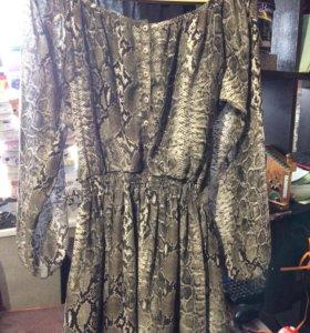 Платье шифоновое 46-48р