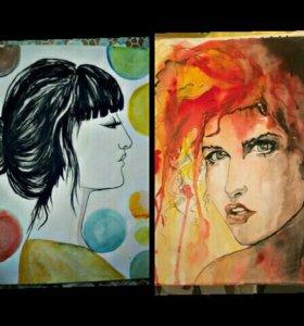 Рисунок на заказ, портрет, шарж, арт