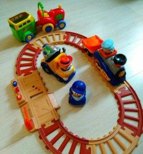Фирменные игрушки, железная дорога