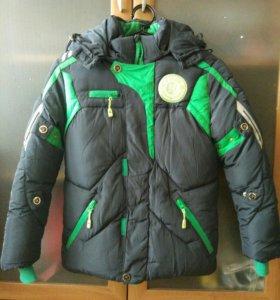 Зимняя куртка 134 см
