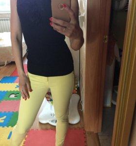 Желтые брючки (под джинсы)