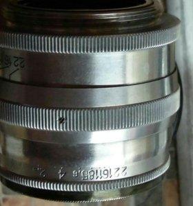 Дальномерный ЮПИТЕР-3 SONNAR из СССР 50мм/1,5 m39