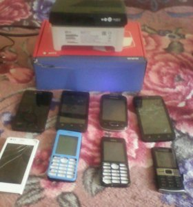 Телефоны на запчасти и ТВ приставки