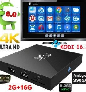 ТВ приставка android 6.0 16Gb, 2GB Ram