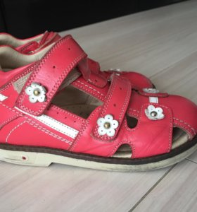 Обувь ортопедическая для  девочки 17,3  кожа