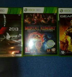 Xbox 360 +Kinect+3games+3джостика