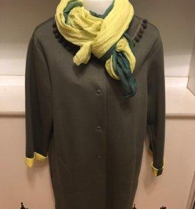 Новое легкое пальто