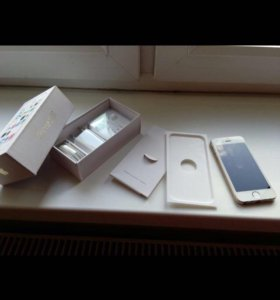 iPhone 5S золотой 16гб